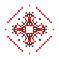 Текстовый украинский орнамент: Марія