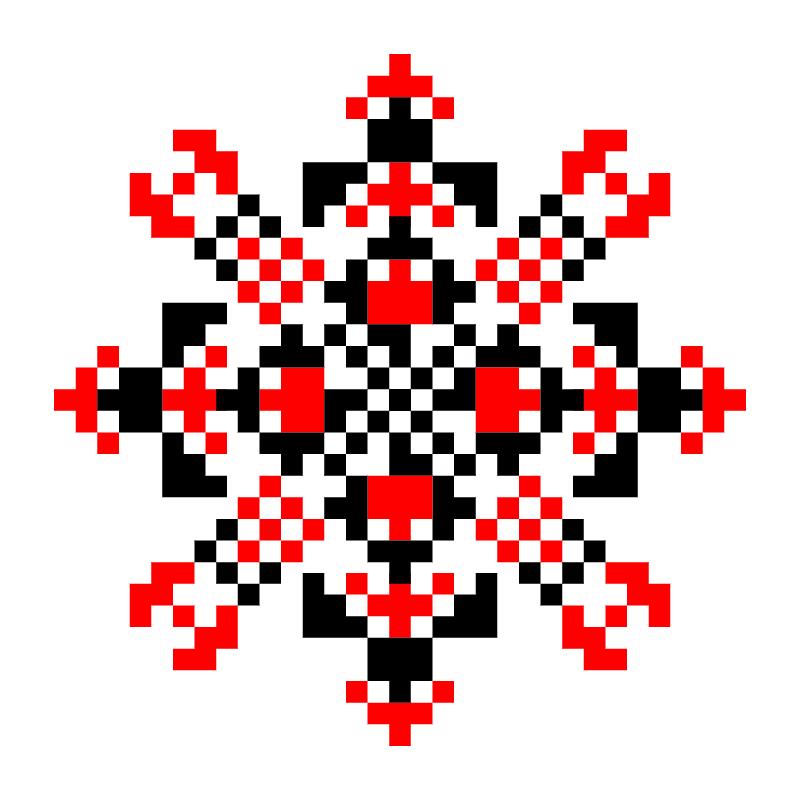 Текстовий слов'янський орнамент: gg