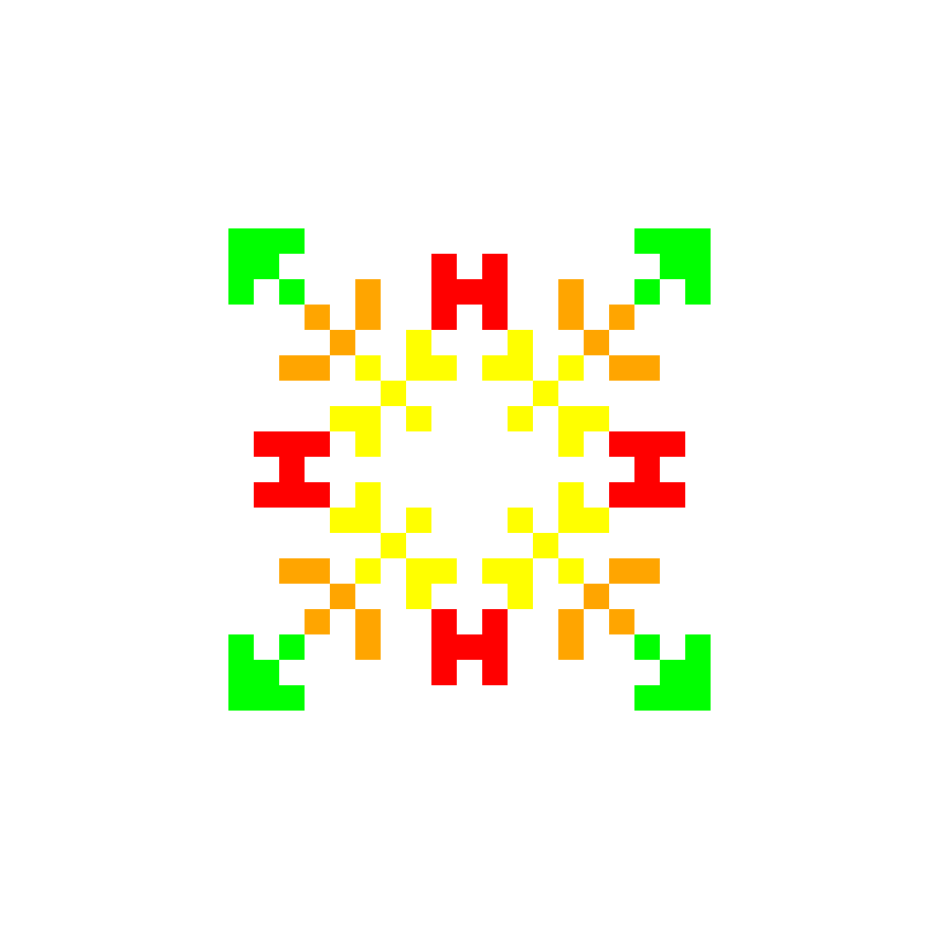 Текстовий слов'янський орнамент: Жєня