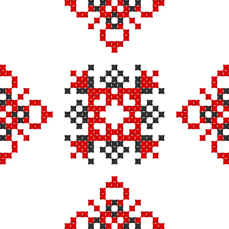 Текстовий слов'янський орнамент: Надія Сова