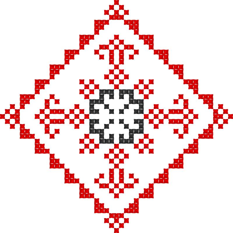 Текстовий слов'янський орнамент: Безрода