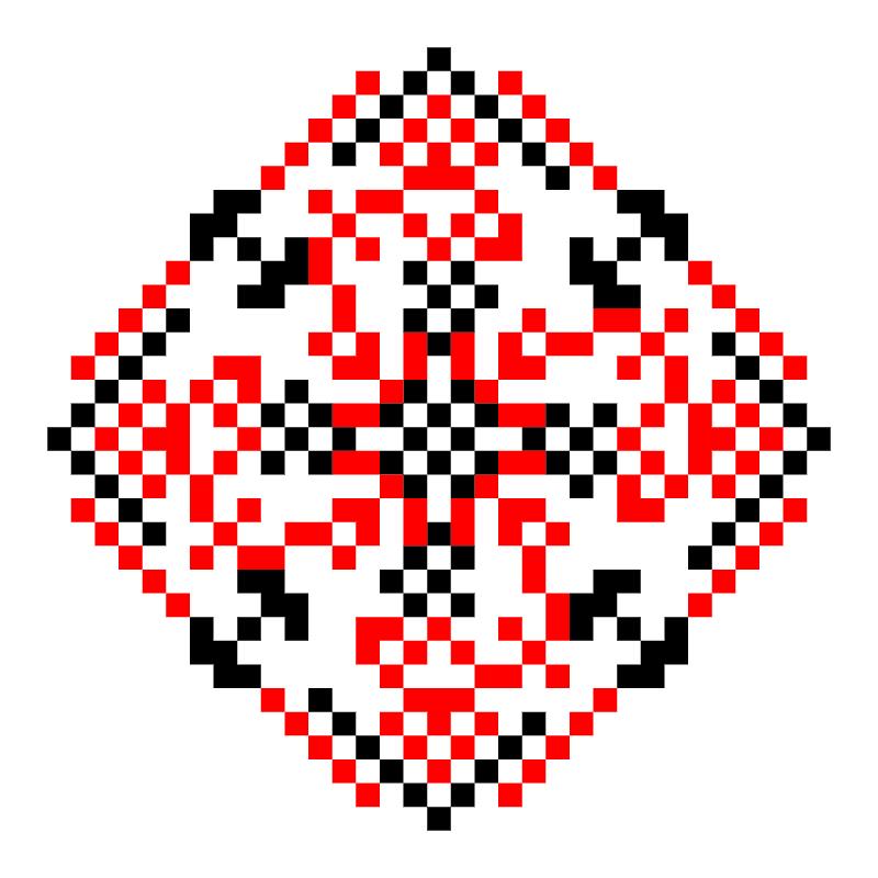 Текстовий слов'янський орнамент: Ім'я