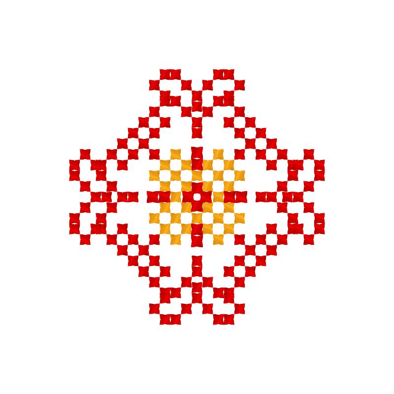 Текстовий слов'янський орнамент: Зеббі