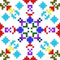 Текстовый украинский орнамент: Орнамент1