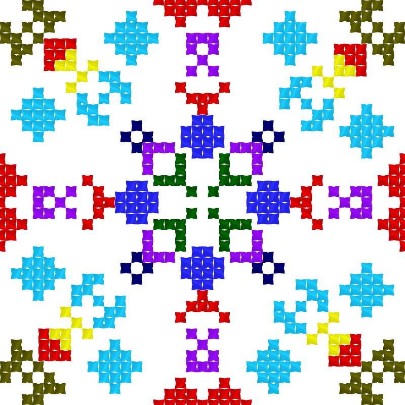 Текстовий слов'янський орнамент: Орнамент1