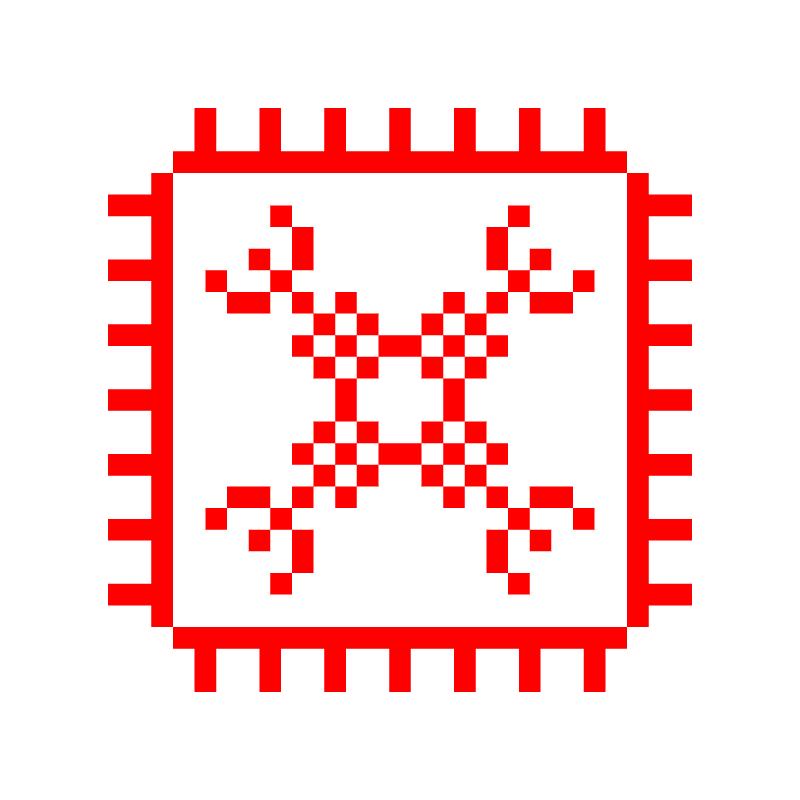 Текстовий слов'янський орнамент: КЛІТКА