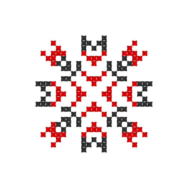 Текстовий слов'янський орнамент: Adam