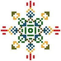 Текстовый украинский орнамент: Владислав