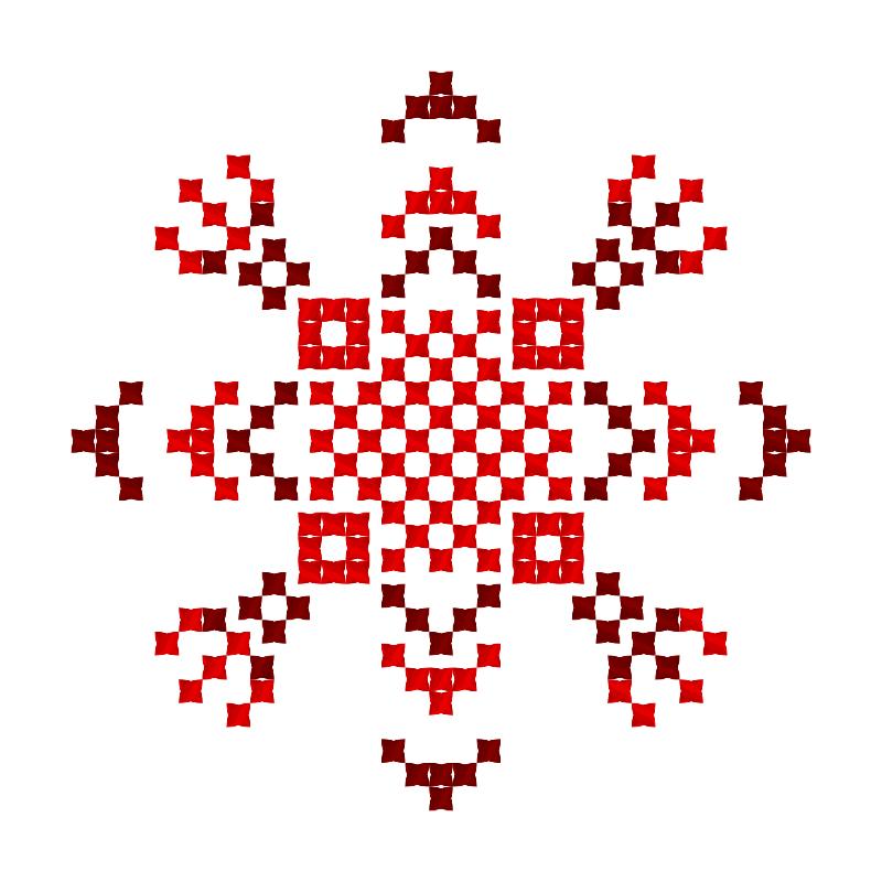 Текстовий слов'янський орнамент: Золотава