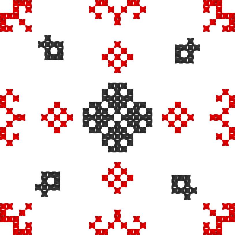 Текстовий слов'янський орнамент: Практична